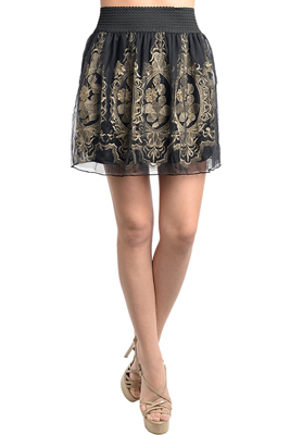 Cute Chiffon Dance Party Skirt