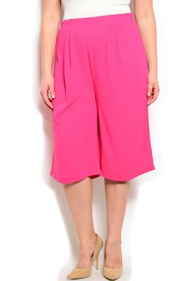 Plus Size Dressy Soft Flowy Gaucho Pants